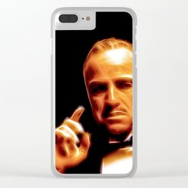The Godfather - © Doc Braham; All Rights Reserved Clear iPhone Case