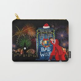 Happy New year from 10th Doctor who Carry-All Pouch