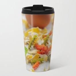 Coloful Pasta Creation Travel Mug