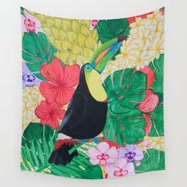 Luis the Tucan Wall Tapestry