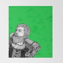 Faerwald: the Wayfarer  Throw Blanket