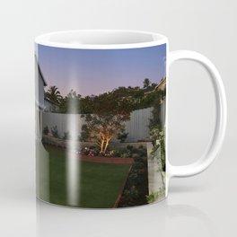 California USA Encinitas Mansion Lawn Evening Cities Building Design Houses Coffee Mug