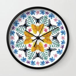 Mandala Meditation #1 Wall Clock