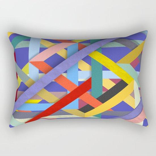 Abstract #278 Rectangular Pillow