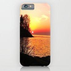 sunset on the lake iPhone 6 Slim Case