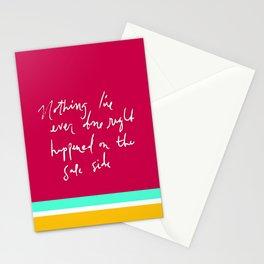 Safe Side Stationery Cards