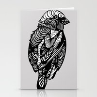 sparrow Stationery Cards featuring Sparrow by amyrose