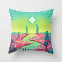 PHAZED PixelArt 3 Throw Pillow