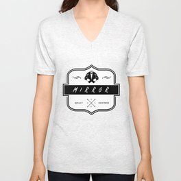 Mirror Logo Unisex V-Neck