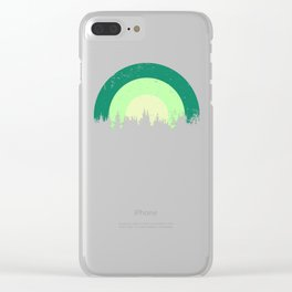 Evergreen Clear iPhone Case