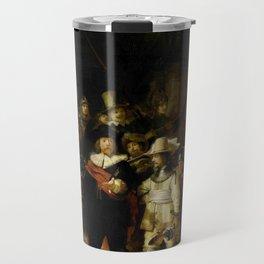 Rembrandt, The night watch, de nachtwacht Travel Mug