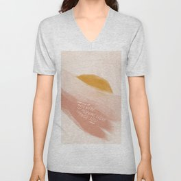Come And Be Made New, Let Morning Light Change You. Unisex V-Neck
