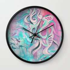 Tempest II (colour variant) Wall Clock