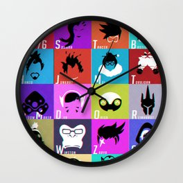 Are You With Us? Wall Clock