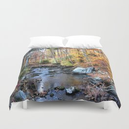 Autumn Woodlands Duvet Cover