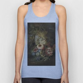 Abraham Brueghel - Still Life With Fruits Unisex Tank Top
