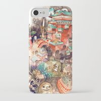 spirited away iPhone & iPod Cases featuring Spirited Away by Foya