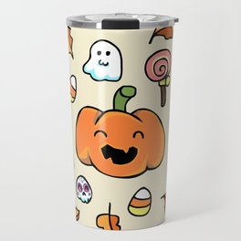 Halloween Doodles Travel Mug
