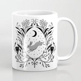 Happy Easter -Black and White Coffee Mug