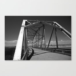 Route 66 Rio Puerco Bridge 2012 Canvas Print