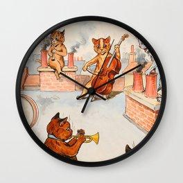 CATS ORCHESTRA - Louis Wain Cats Wall Clock