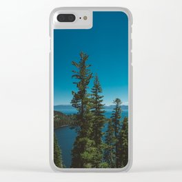 Lake Tahoe II Clear iPhone Case