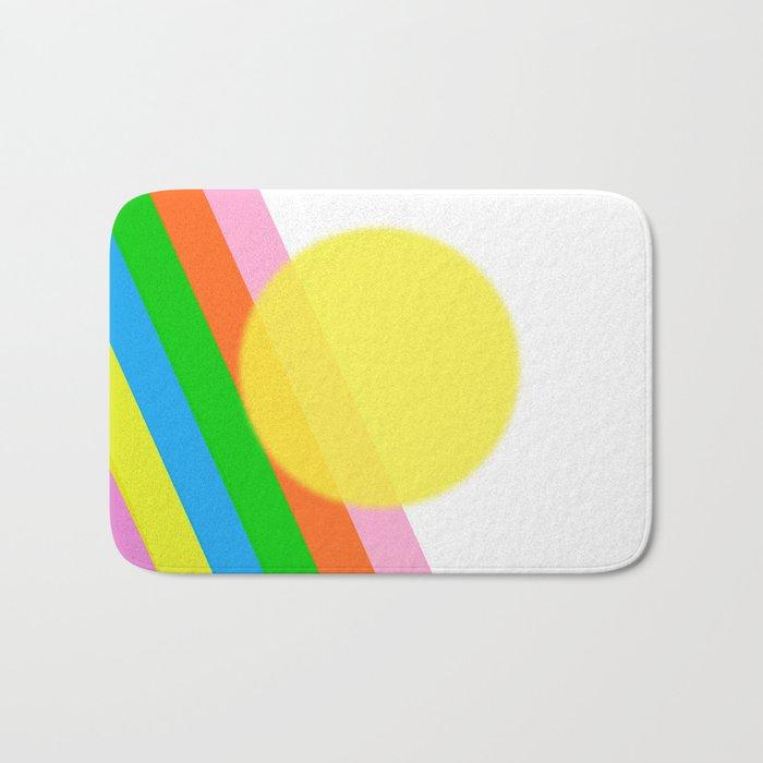 Sunshine and Rainbows Bath Mat