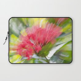 Flower Burst - Electric Magenta Laptop Sleeve