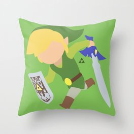 Toon Link(Smash) Throw Pillow