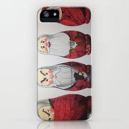 North's Matryoshkas iPhone Case