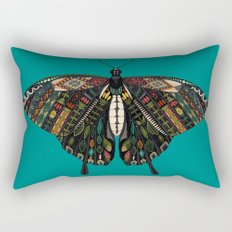 swallowtail butterfly teal Rectangular Pillow