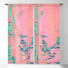 I See Beauty - Malachite Marble Blackout Curtain