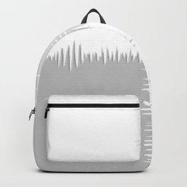 QUARTERS #1 (Grays & White) Backpack