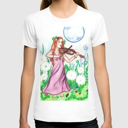 Fiddler and the Moon T-shirt