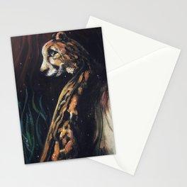 Jaguar Watching // Wild Animal Jungle Cat Leopard Tiger Forest Power Spirit Energy Stationery Cards