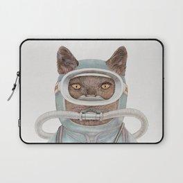 Scuba Cat Laptop Sleeve