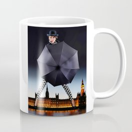 London Woman and Big Ben. Coffee Mug