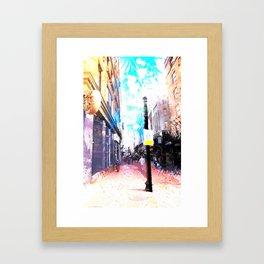 Tremont Street, Boston Framed Art Print