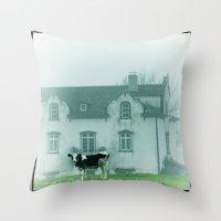 rustic Throw Pillows featuring Rustic by Susann Mielke