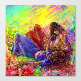 Meadows of heaven Canvas Print