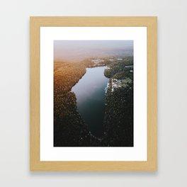 New York State - Lake Minnewaska Framed Art Print