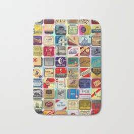 Antique Condoms Bath Mat