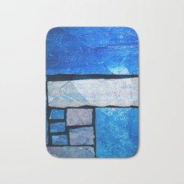 Blue stone slate Bath Mat