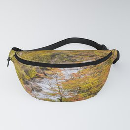 Colored Forest Landscape, Patagonia - Argentina Fanny Pack