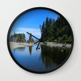 A Magnificent Beach Scene Wall Clock