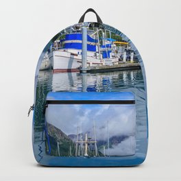 Seward Boat Harbor II, Alaska Backpack