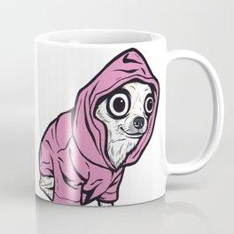 Chihuahua Pink Hoodie Coffee Mug