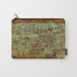 Textured Bark Carry-All Pouch