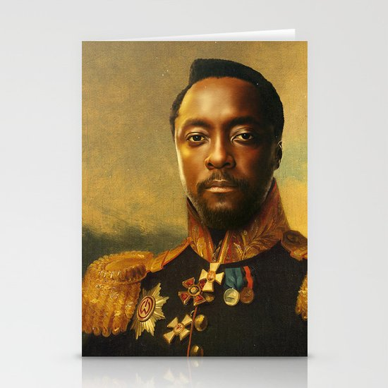 will.i.am - replaceface Stationery Cards