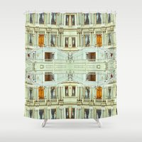 istanbul Shower Curtains featuring Istanbul by monasita